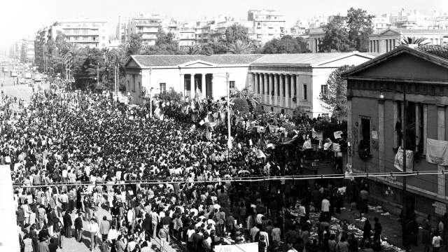 Το ιστορικό της εξέγερσης του Πολυτεχνείου